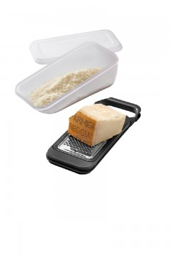 Parmesan cheese grater with box